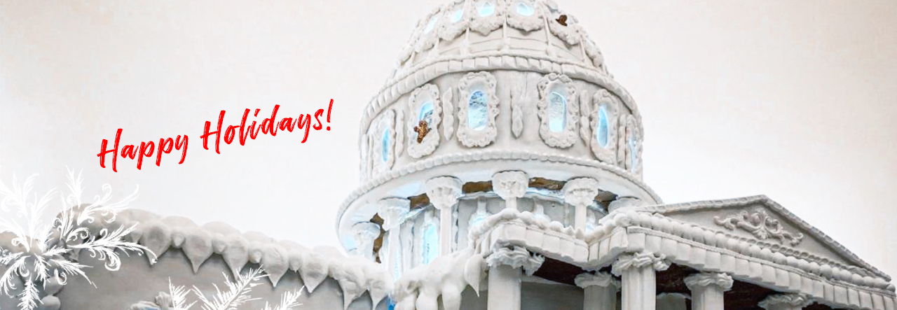 US capitol gingerbread house -