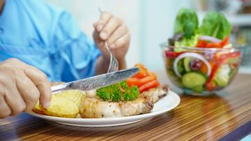 delicious and healthy plate of food