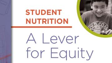Student nutrition - a lever for equity