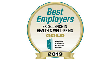 The National Business Group on Health's 2019 Best Employers: Excellence in Health & Well-Being award