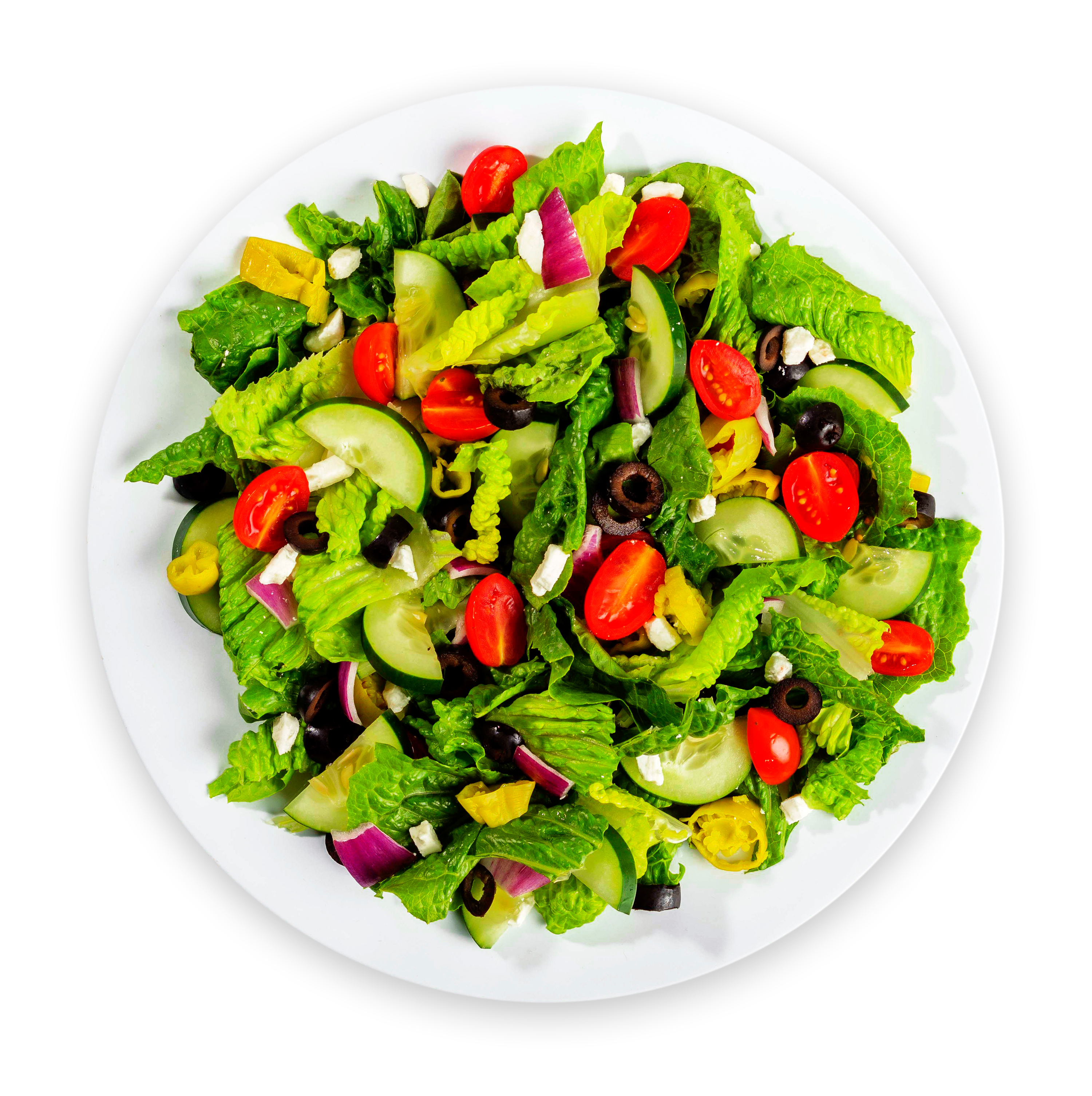 a colorful, healthy salad