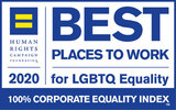 HRC - Best places to work - LGBT equality