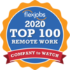 FlexJobs - Top 100 company to watch