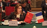 Sophie BELLON, Chairwoman of the Board of Directors of Sodexo, Attended the France-China Enterprises Council Conference