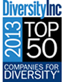 DiversityInc Recognizes Sodexo's Diversity Leadership with a #1 Ranking on the 2013 Top 50 Companies for Diversity List
