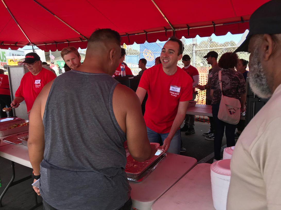 Sodexo Provides More Than 1,000 Meals to Homeless Veterans at San ...