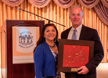 Sodexo Receives Corporate Champion Award from Mar Vista Family Center